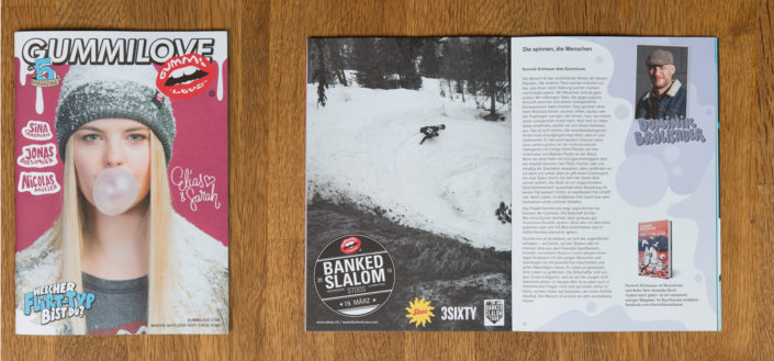 Stoos Banked Slalom advertisement. (2016)