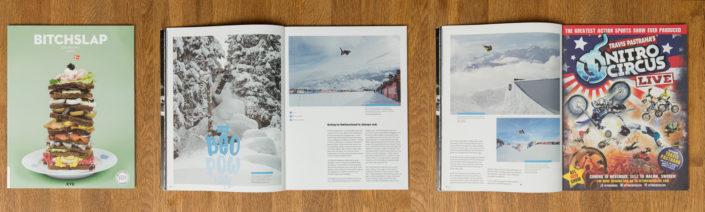 Burton European Open, 3 page spread. (2014)